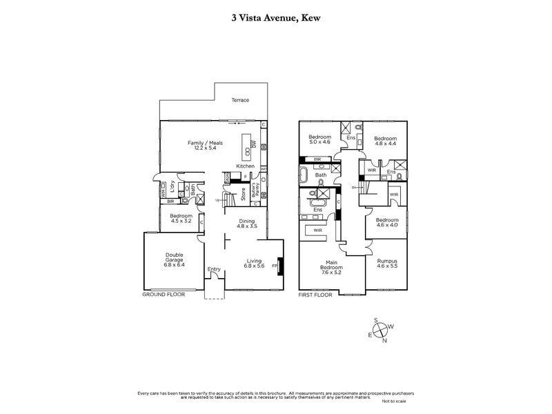 3 Vista Avenue, Kew, Vic 3101 - floorplan