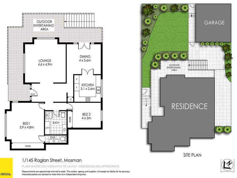 1/145 Raglan Street, Mosman, NSW 2088 - floorplan