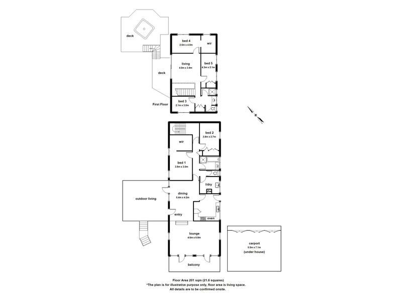 39 Old Belgrave Road, Upper Ferntree Gully, Vic 3156 - floorplan
