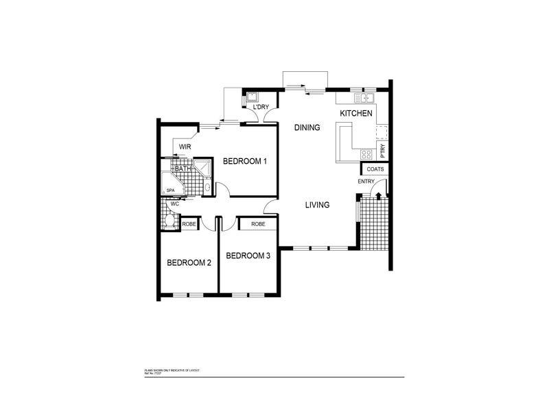 24/71 Mina Wylie Crescent, Gordon, ACT 2906 - floorplan