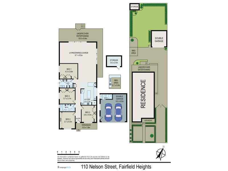110 Nelson Street, Fairfield Heights, NSW 2165 - floorplan