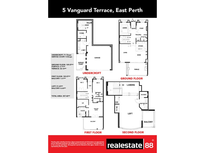 5 Vanguard Terrace, East Perth, WA 6004 - floorplan