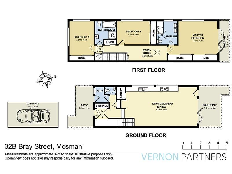 32B Bray Street, Mosman, NSW 2088 - floorplan