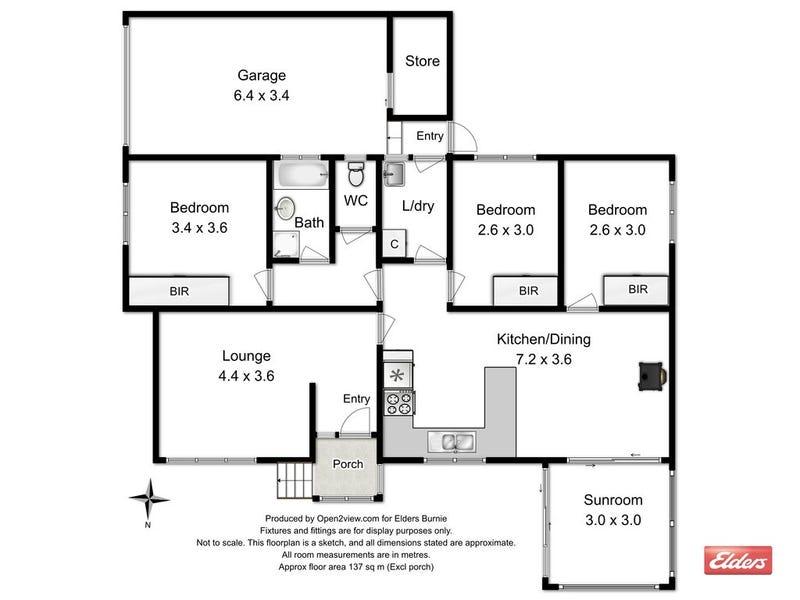 4 Parkinson Street, Zeehan, Tas 7469 - floorplan