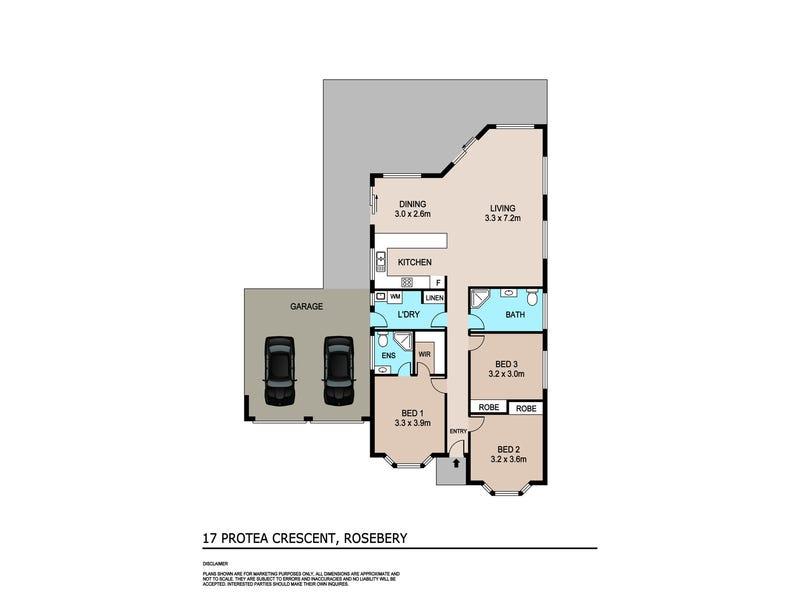 17 Protea Crescent, Rosebery, NT 0832 - floorplan
