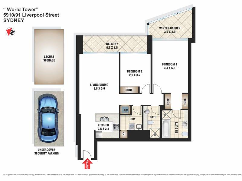 5910/91-93 Liverpool Street, Sydney, NSW 2000 - floorplan