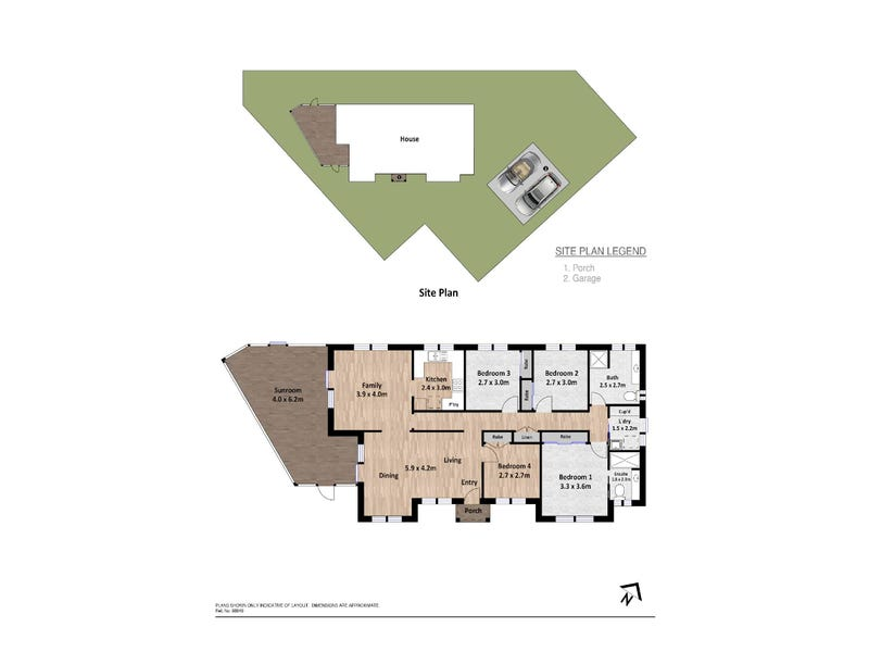 41 Thornhill Crescent, Dunlop, ACT 2615 - floorplan