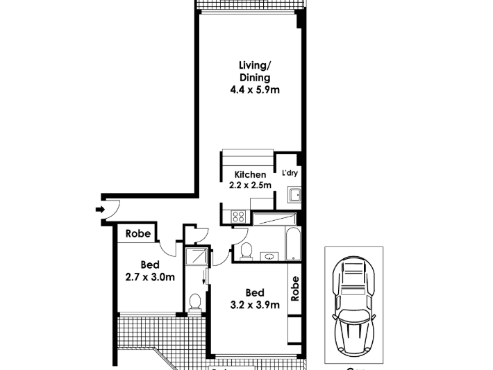 Level 26, 84/267 Castlereagh Street, Sydney, NSW 2000 - floorplan