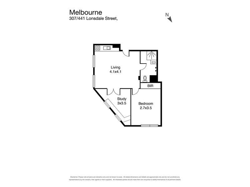 441 Lonsdale Street, Melbourne, Vic 3000 - floorplan