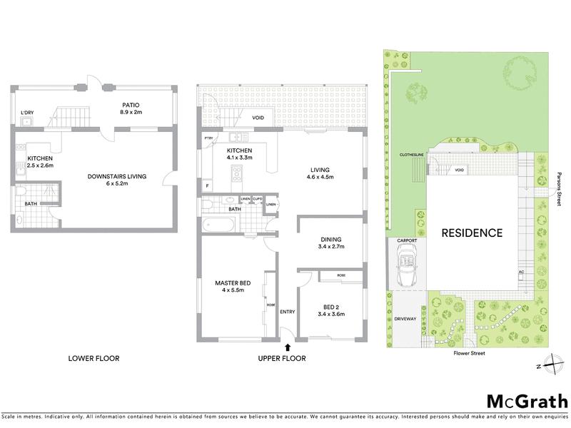 39 Flower Street, Windsor, Qld 4030 - floorplan