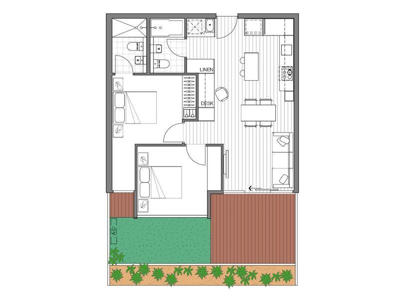 G10/307 Barkers Rd, Kew, Vic 3101 - floorplan