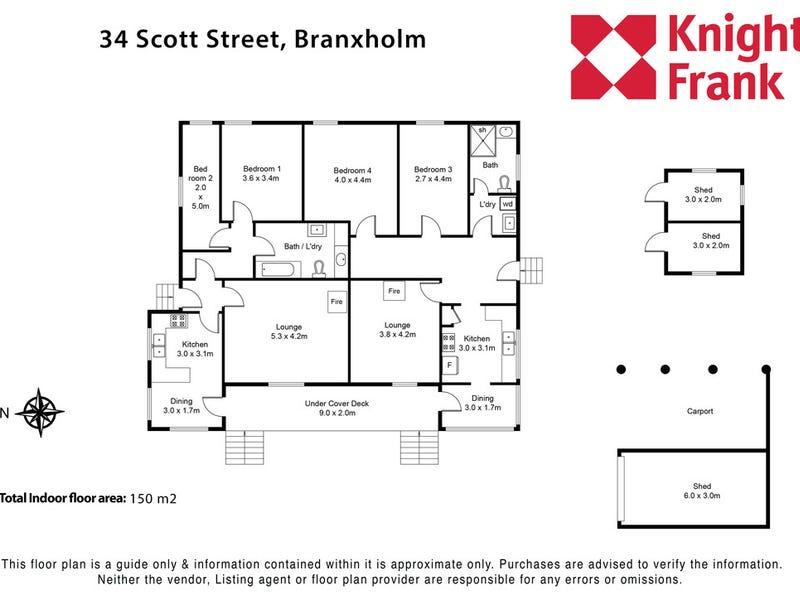 34 Scott Street, Branxholm, Tas 7261 - floorplan
