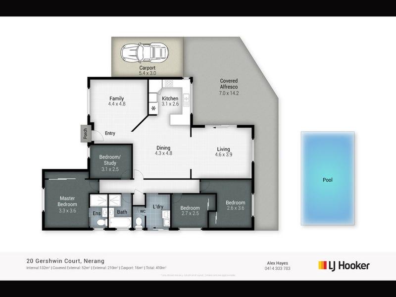 20 Gershwin Court, Nerang, Qld 4211 - floorplan