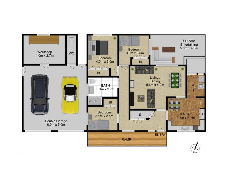 15 Bell Street, Griffith, ACT 2603 - floorplan