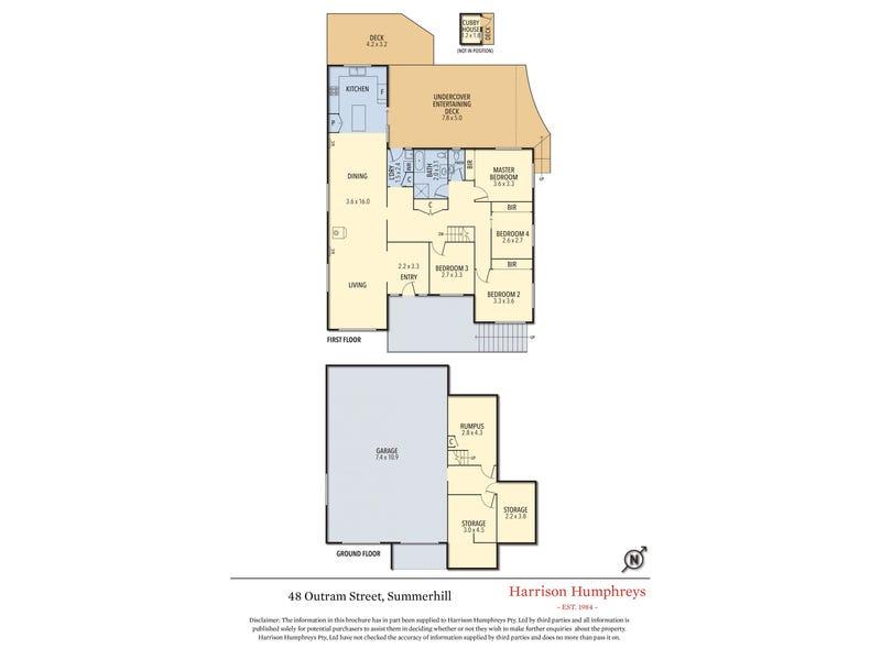 48 Outram Street, Summerhill, Tas 7250 - floorplan