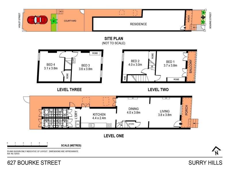 627 Bourke Street, Surry Hills, NSW 2010 - floorplan