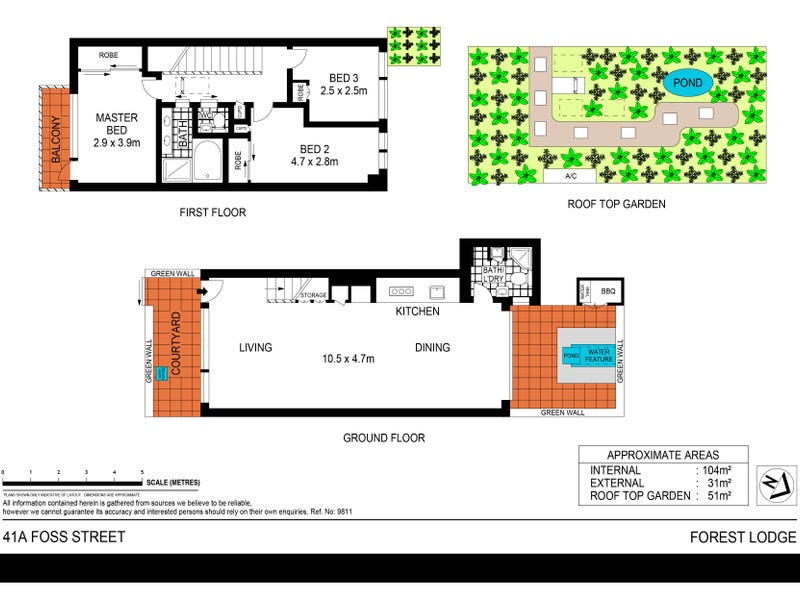 41A Foss Street, Forest Lodge, NSW 2037 - floorplan