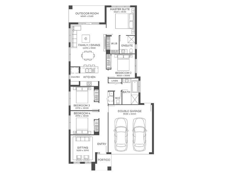 Lot 204 Pebble Creek Way, South Maclean, Qld 4280 - floorplan