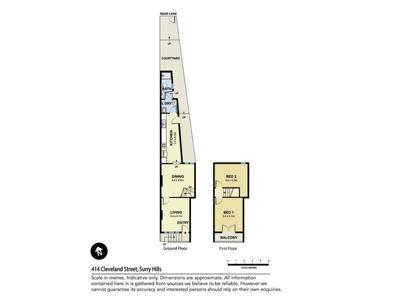 414 Cleveland Street, Surry Hills, NSW 2010 - floorplan