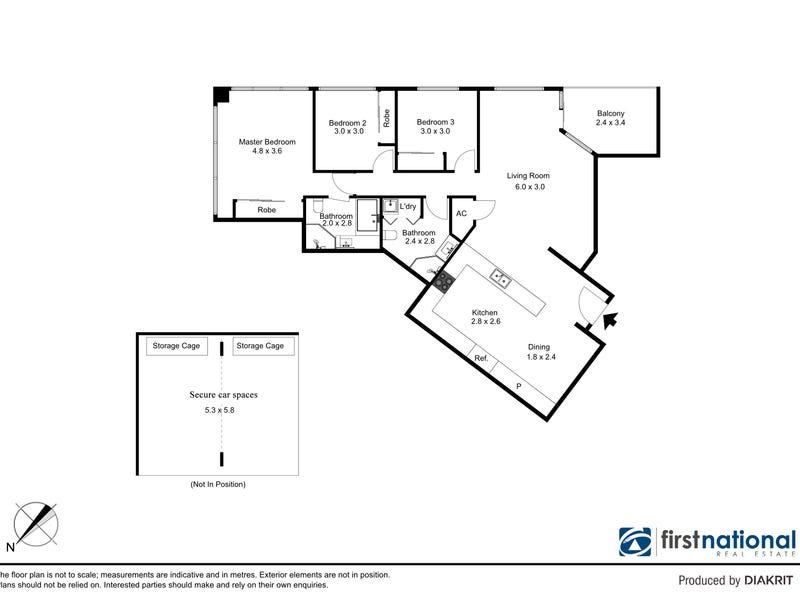 1707/2B Help Street, Chatswood, NSW 2067 - floorplan