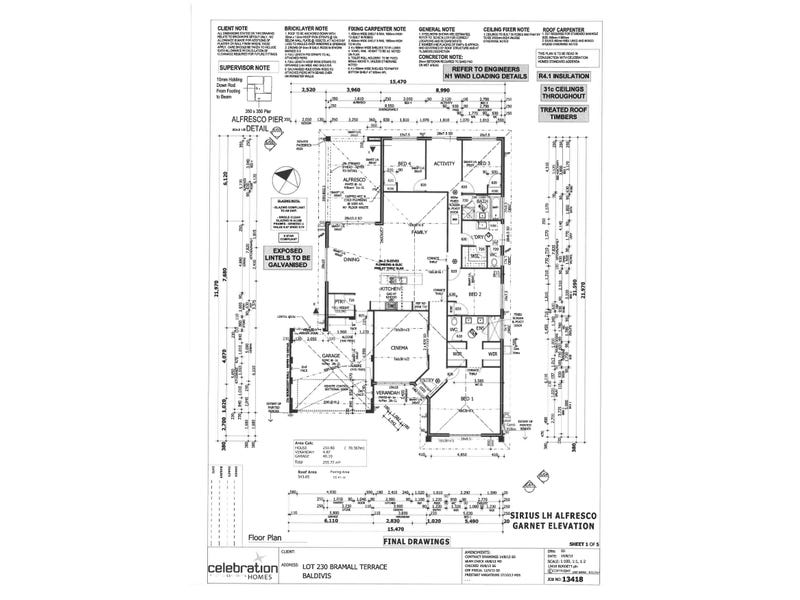 54 Bramall Terrace, Baldivis, WA 6171 - floorplan