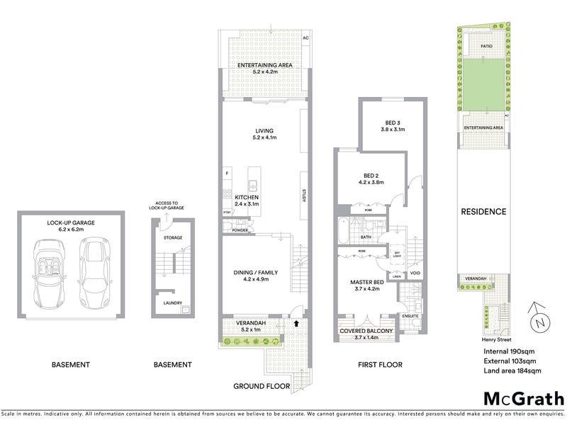 8 Henry Street, Balmain, NSW 2041 - floorplan