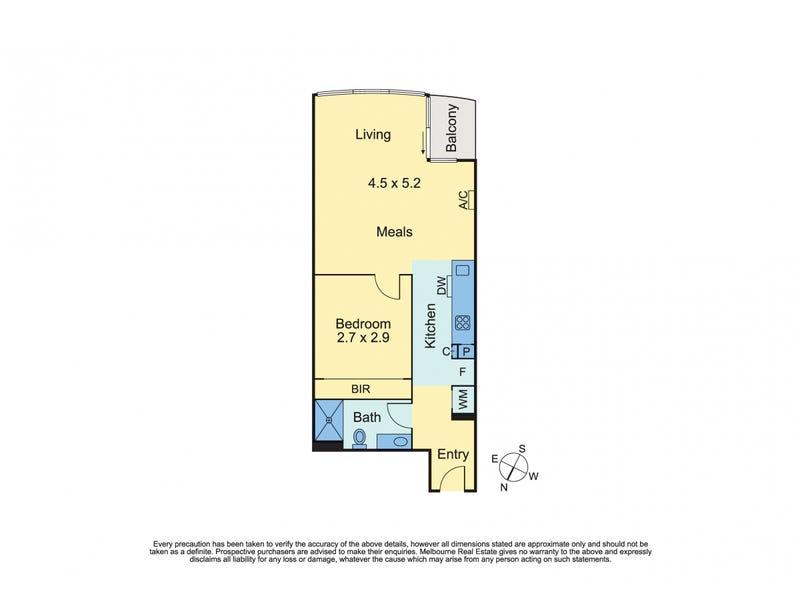 2108/285 La Trobe Street, Melbourne, Vic 3000 - floorplan