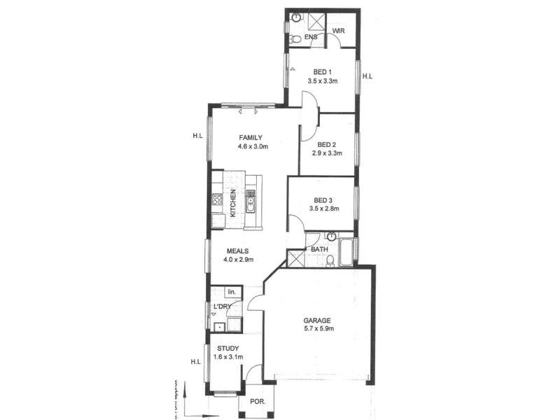 Gillman, address available on request - floorplan
