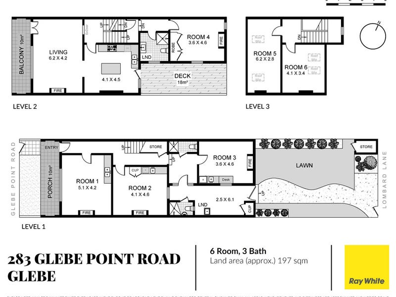 283 Glebe Point Road, Glebe, NSW 2037 - floorplan