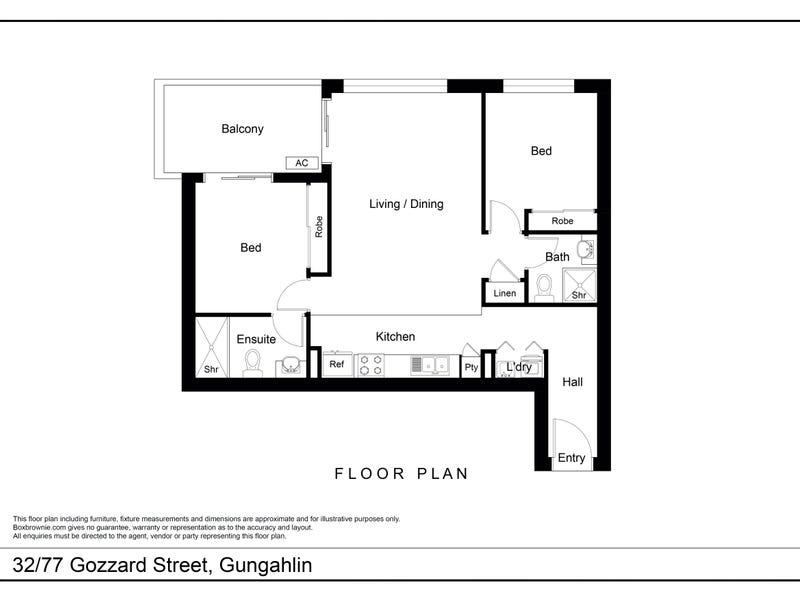 32/77 Gozzard Street, Gungahlin, ACT 2912 - floorplan