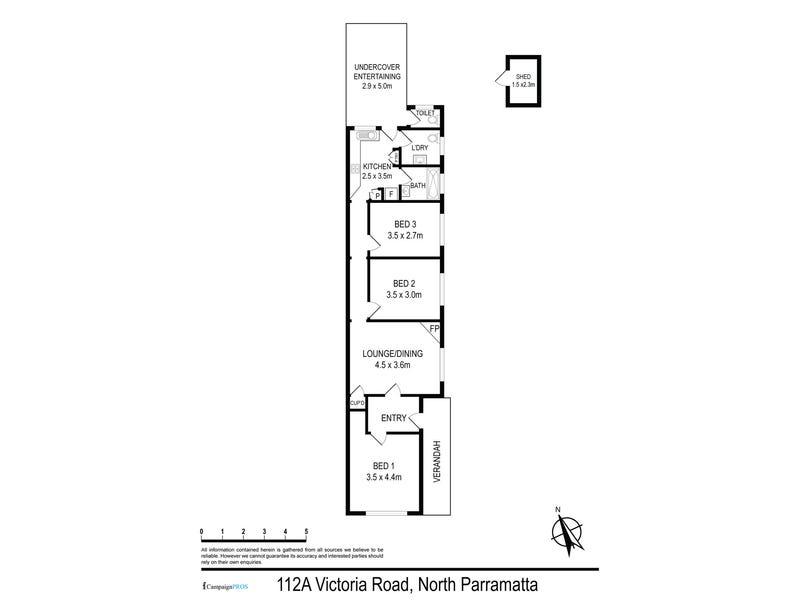 112A Victoria Road, North Parramatta, NSW 2151 - floorplan