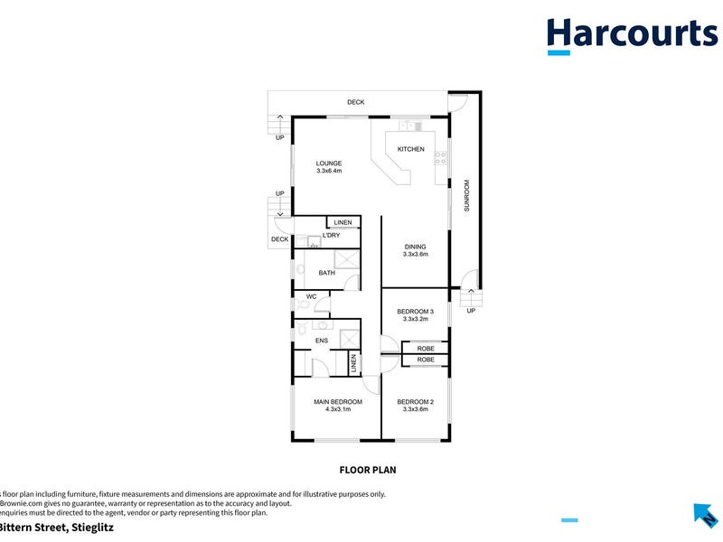 6 Bittern Street, Stieglitz, Tas 7216 - floorplan