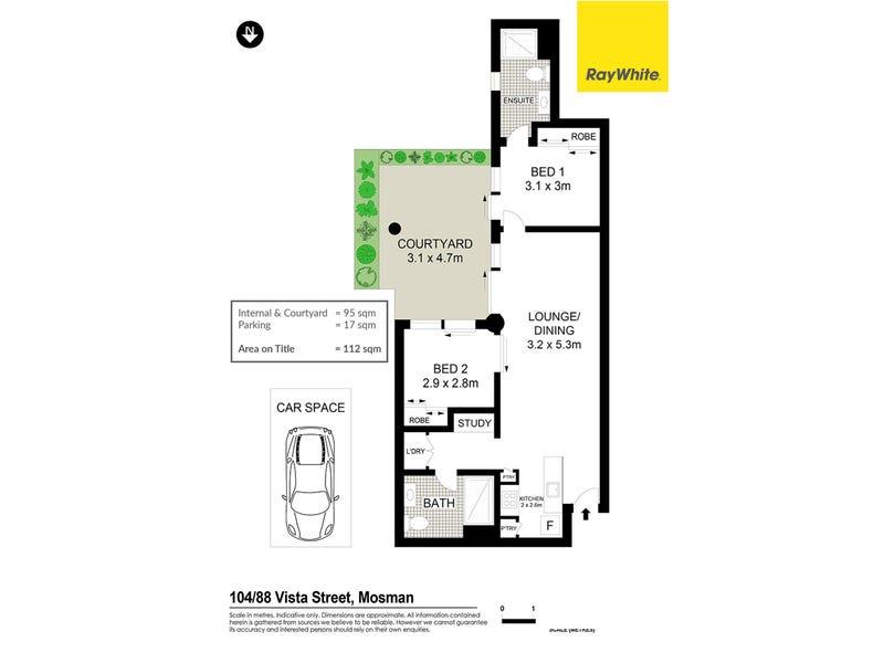 104/88 Vista Street, Mosman, NSW 2088 - floorplan