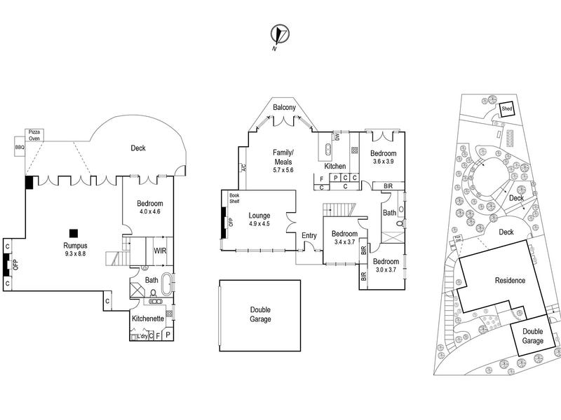 36 Studley Road, Ivanhoe, Vic 3079 - floorplan