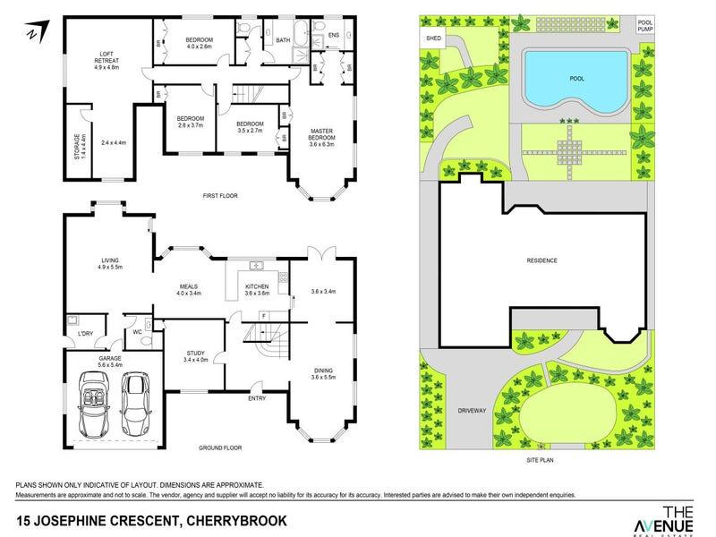 15 Josephine Crescent, Cherrybrook, NSW 2126 - floorplan