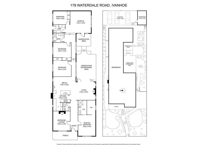 179 Waterdale Road, Ivanhoe, Vic 3079 - floorplan