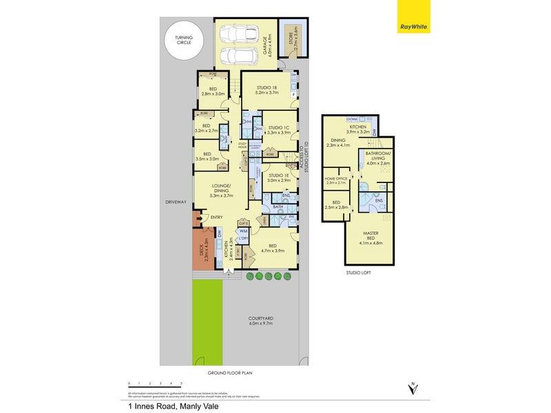 1 Innes Road, Manly Vale, NSW 2093 - floorplan