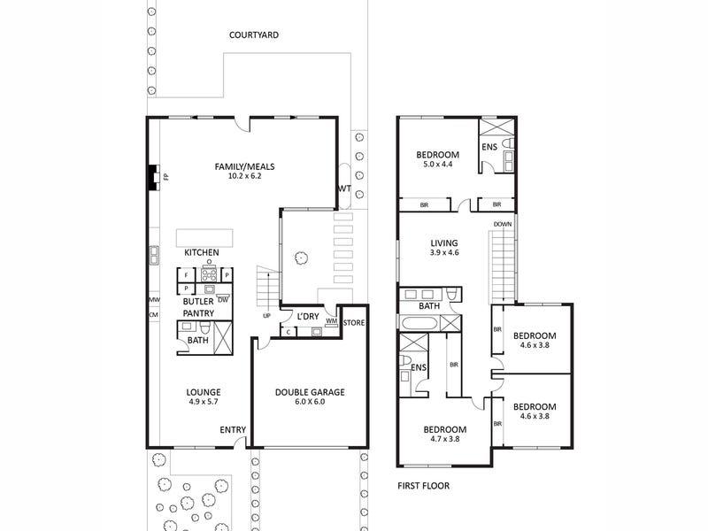 3 English Place, Kew, Vic 3101 - floorplan