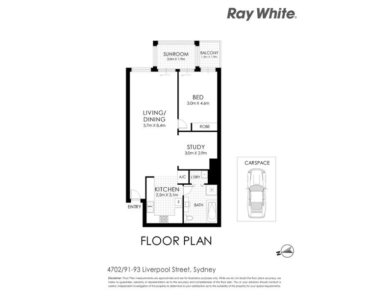 91 Liverpool Street, Sydney, NSW 2000 - floorplan
