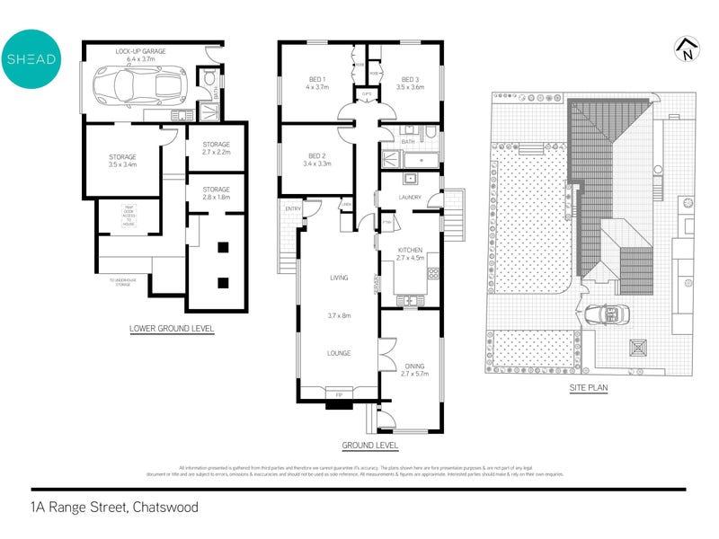 1A Range Street, Chatswood, NSW 2067 - floorplan