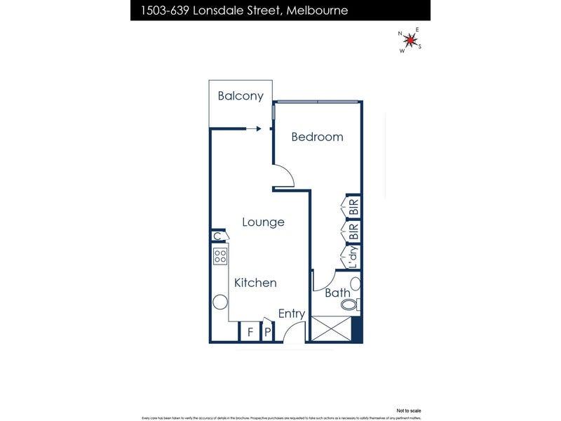1503/639 Lonsdale Street, Melbourne, Vic 3000 - floorplan