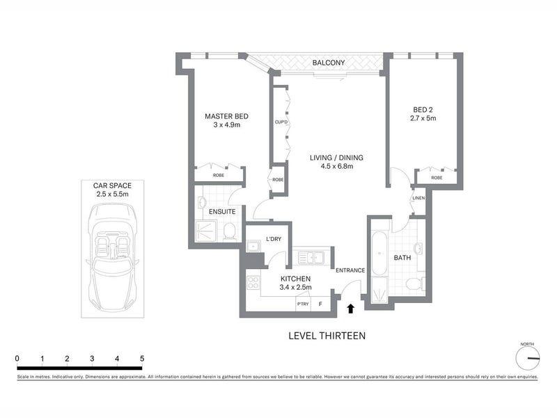 1309/127 Kent Street, Sydney, NSW 2000 - floorplan