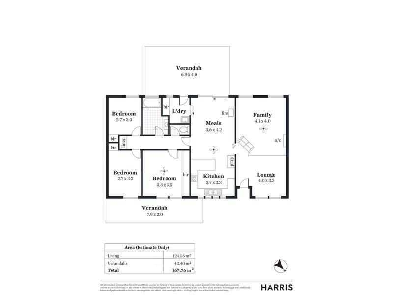 2 Hill View Road, Bridgewater, SA 5155 - floorplan