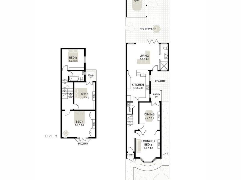 51 Boyce Street, Glebe, NSW 2037 - floorplan