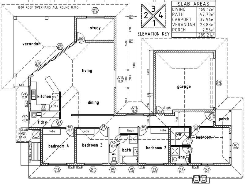 52 Damabila Drive, Lyons, NT 0810 - floorplan