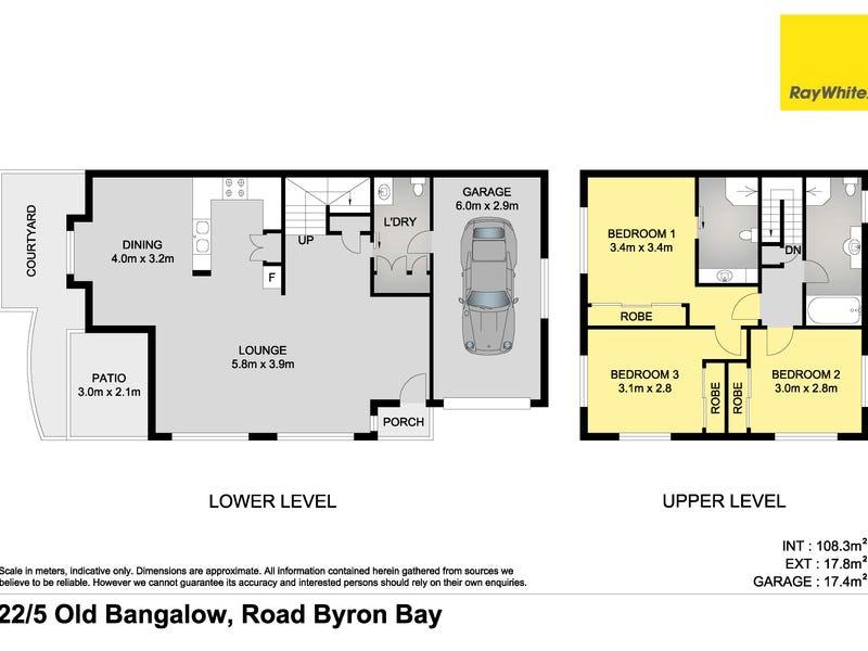 22/5-7 Old Bangalow Road, Byron Bay, NSW 2481 - floorplan