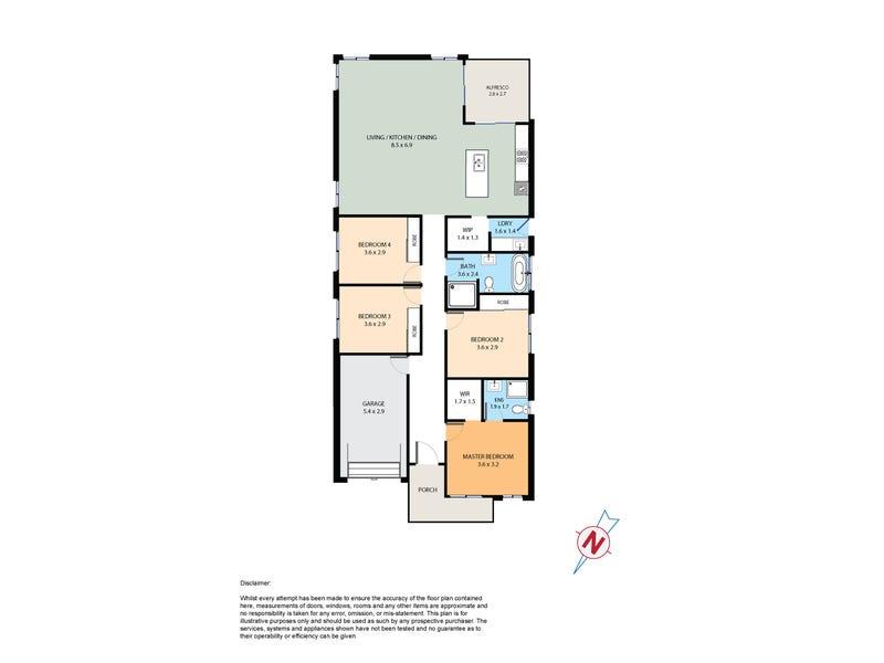 10 Quetta Street, Riverstone, NSW 2765 - floorplan