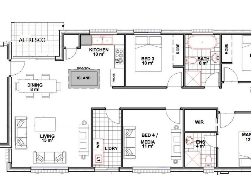 213 Evergreen St, Schofields, NSW 2762 - floorplan