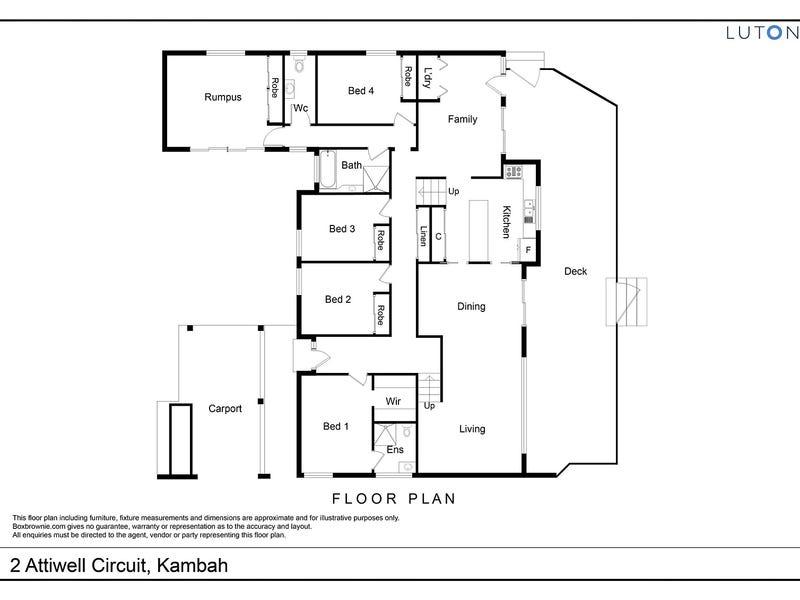 2 Attiwell Circuit, Kambah, ACT 2902 - floorplan
