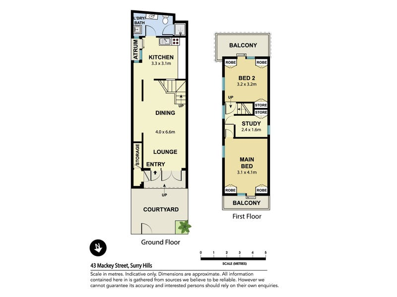 43 Mackey Street, Surry Hills, NSW 2010 - floorplan